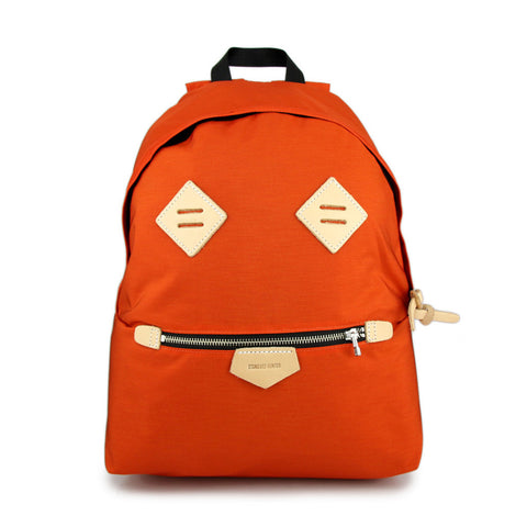 Smiling Face Backpack - Orange