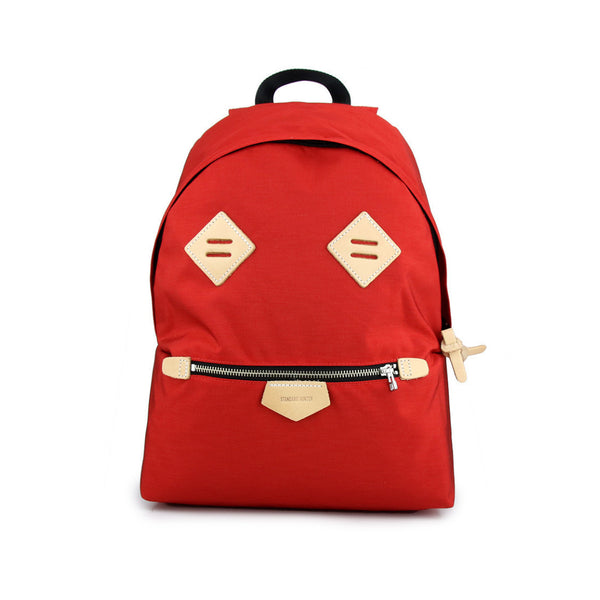 Smiling Face Backpack - Red