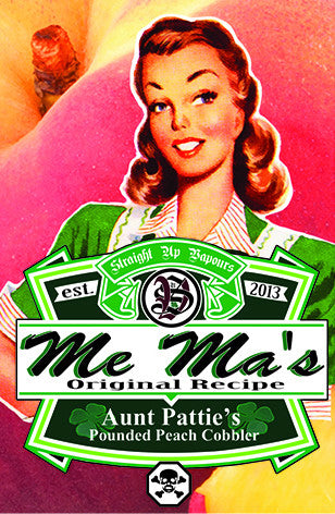 Me Ma's Original Recipe - Aunt Patty's Pounded Peach Cobbler 60ml