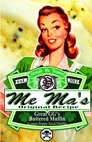 Me Ma's Original Recipe - Great GG's Buttered Muffin 30ml