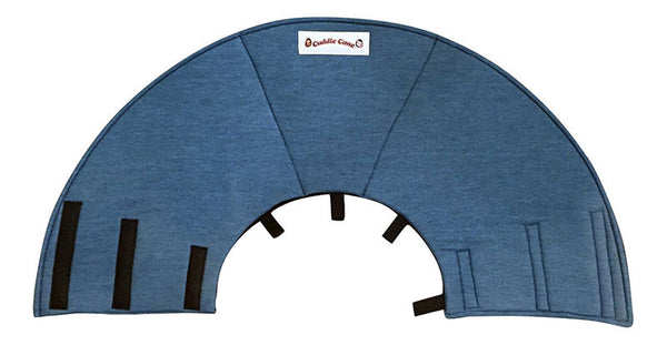 Cuddle Cone Pet Recovery Collar - Denim
