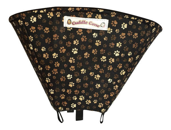Cuddle Cone Pet Recovery Collar - Paw Print