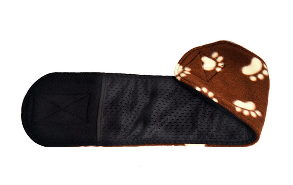 Cuddle Bands Belly Bands for Male Dogs - Brown Paw Print
