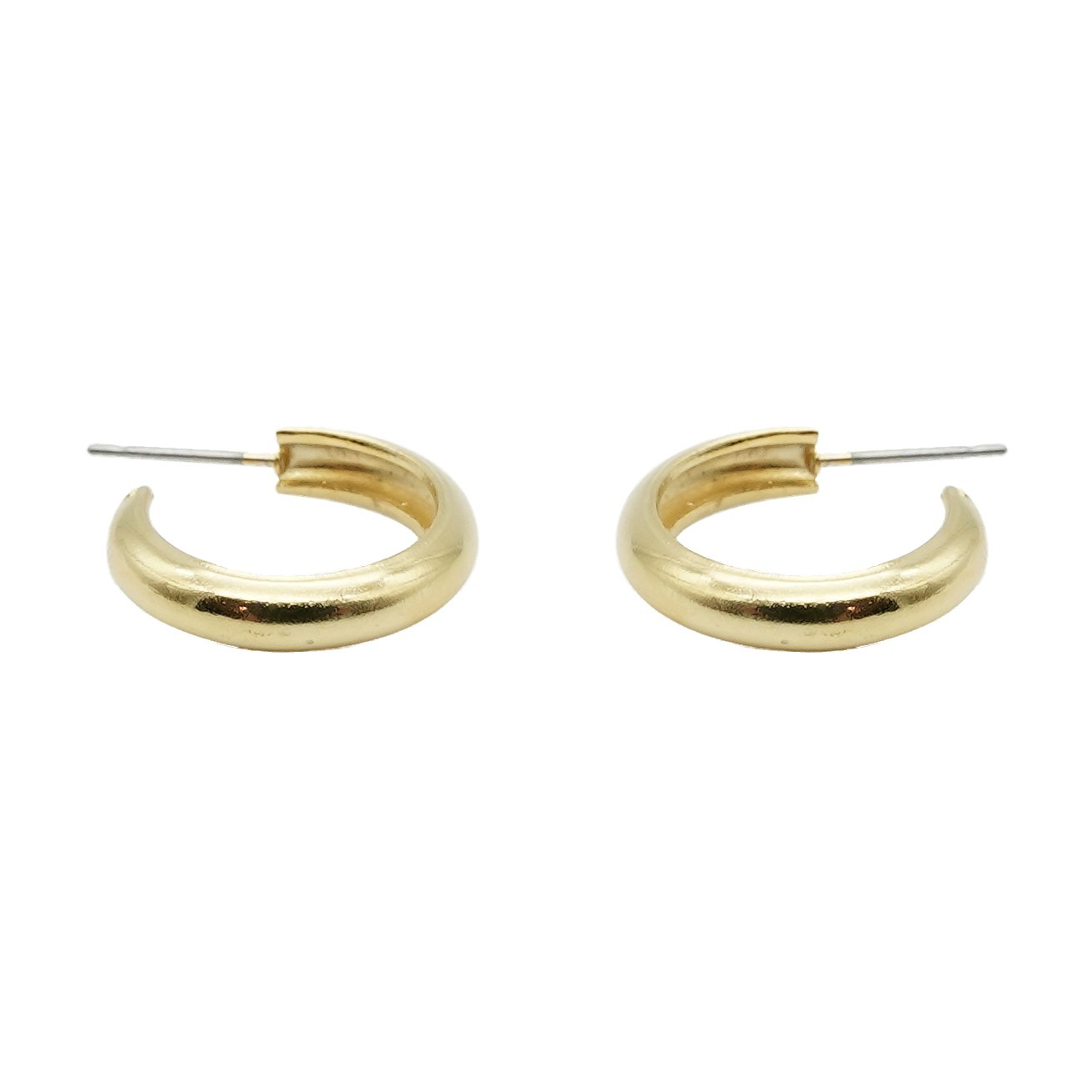 Super Simple Gold Hoops