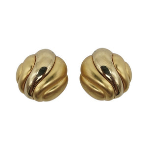 Vintage 1980s Givenchy Swirl Clips
