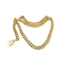 Chanel Swag Gold Chain Belt