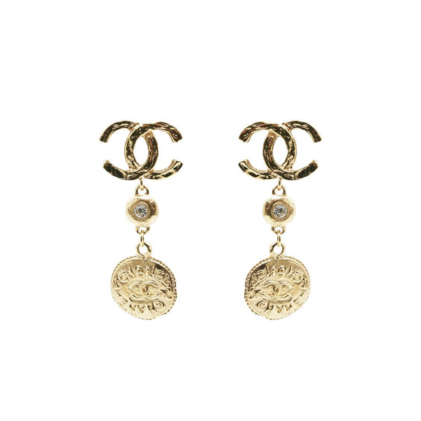Chanel CC Logo Ear Pendants