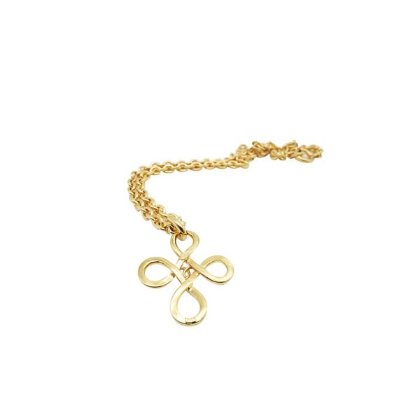 Chanel Quatrefoil Pendant Necklace