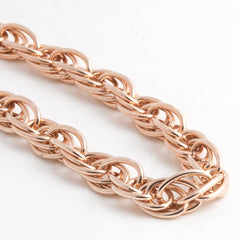 Rose Gold Chunky Statement Necklace