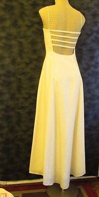 Morgan & Co. ivory formal dress Sz 7/8, excellent condition!