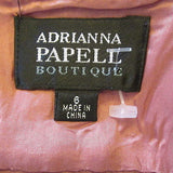 Adrianna Papell Boutique rosewood pink dress Sz 6, NEW