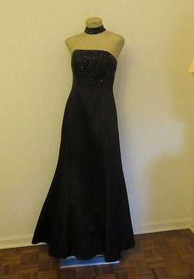 Morgan & Co black formal dress Sz 9/10, excellent condition!