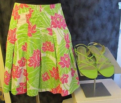 Lilly Pulitzer Spring/Summer skirt Sz 8, excellent condition!