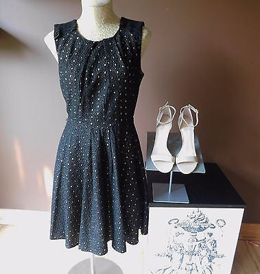 Vince Camuto black dress Sz 6, excellent condition!