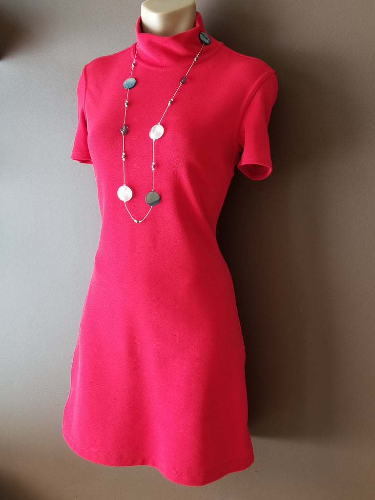 Limited London, Paris, New York red dress Sz XS