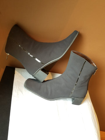 Aquatalia black quarter boots, Sz 8