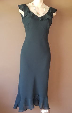 Evan Picone black formal dress, size 4 petite