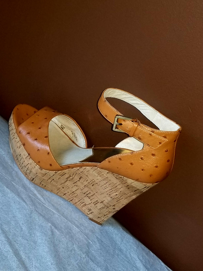 Michael Kors wedges Sz 9