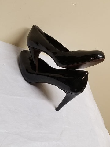 Cole Haan Nike Air black round toe high heels, size 10B