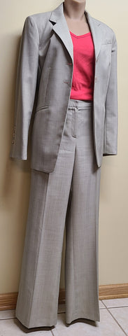 Travis Ayers tan/neutral pants suit, size 10