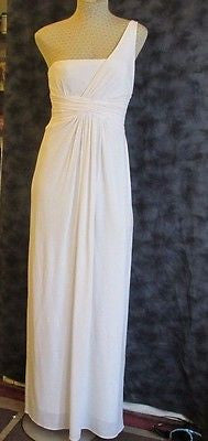 BCBGmaxazria Ivory maxi dress size small, excellent condition!
