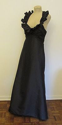 Bill Levkoff black formal dress size 10, excellent condition
