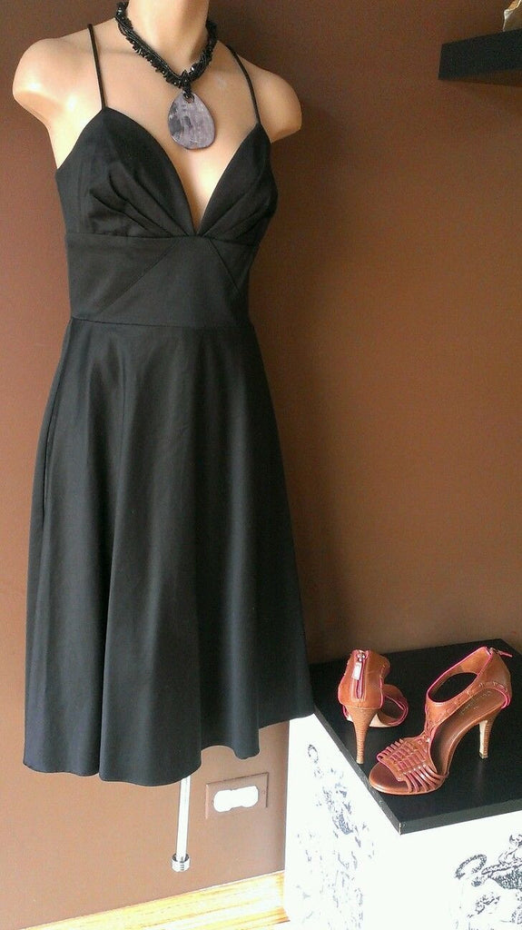 OCOC black sleeveless casual dress Sz 4
