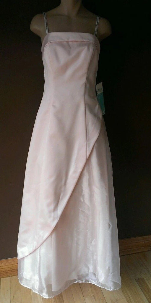 Morgan & Co pink formal dress by Linda Bernell size 3/4