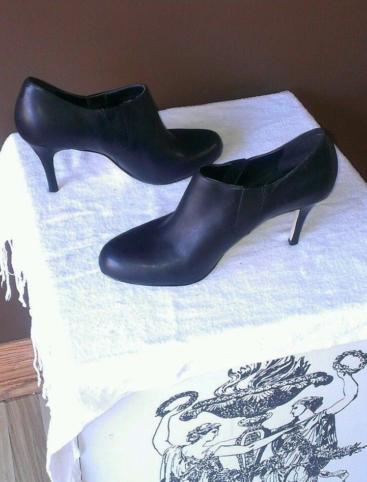 Trendy Cole Haan black ankle boots size 11 B
