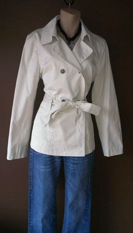 Brooks Brothers 346 off white button down jacket, size 10