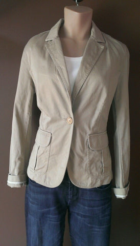 J.crew khaki blazer Sz small, excellent condition