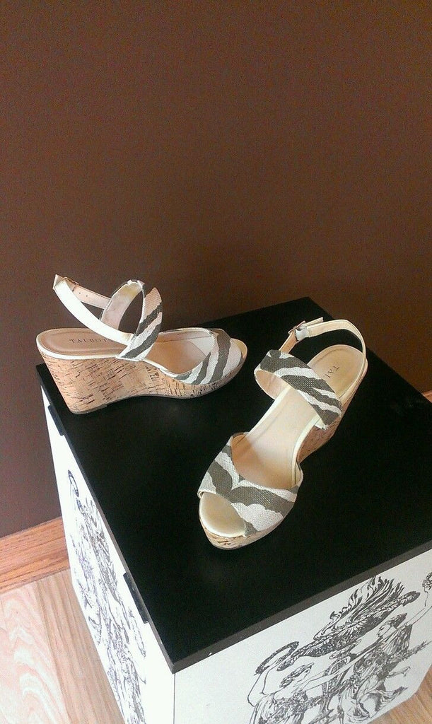 NEW Talbots ankle strap sandals Sz 9M