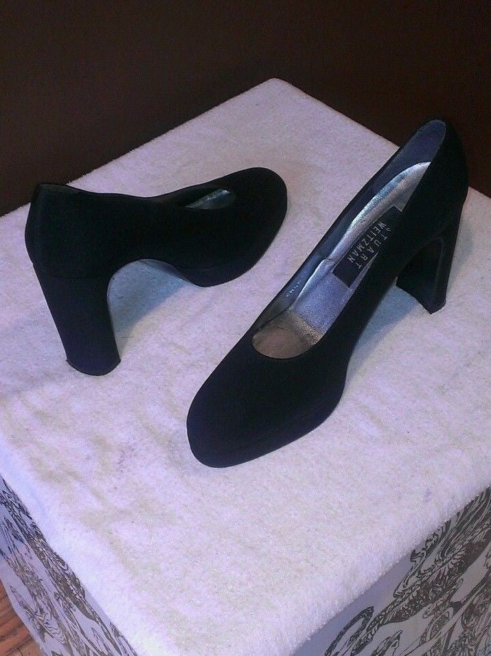 Stuart Weitzman black career pumps, 7 B