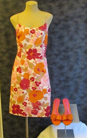 Ann Taylor Summer dress Sz 2, excellent condition