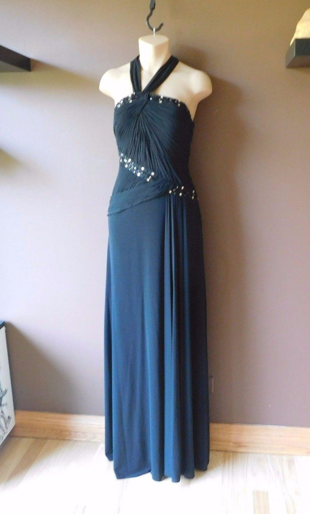 BCBGmaxazria  Black formal dress Sz 2, excellent condition!