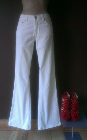 Red engine white pants Sz 27, excellent condition, great for the Season