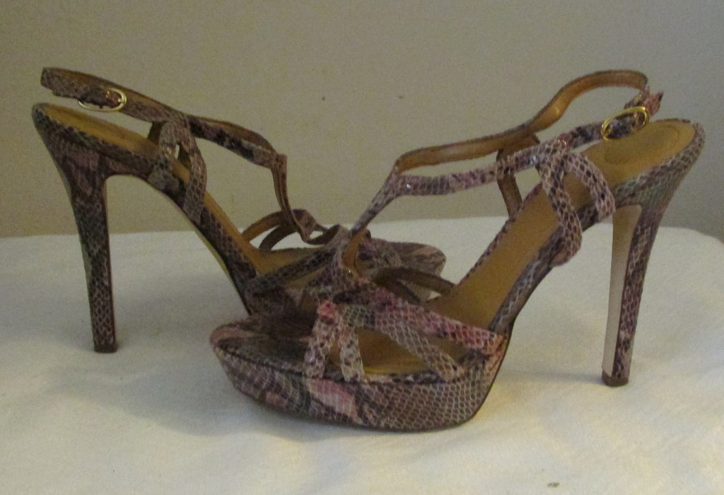 BCBGeneration multi-color stilettos size 9 M, excellent condition AVAILABLE