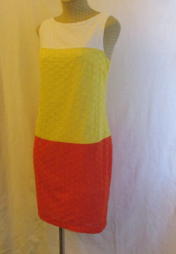 CATO multi-color dress Sz 8, excellent condition