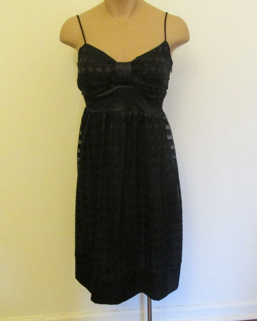 Kitty  black classy black dress Sz 3/4 (small), excellent condition!
