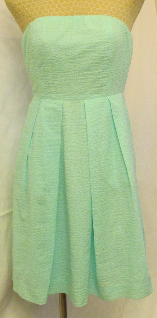J. Crew aqua semi-formal dress size zero, excellent condition