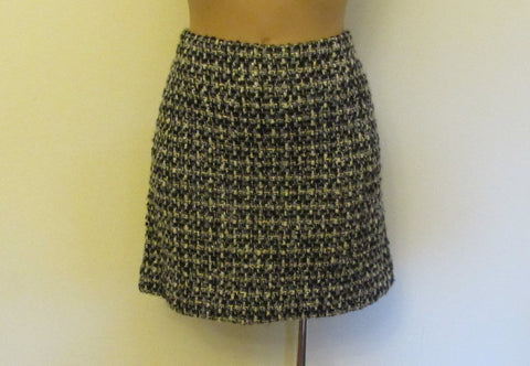 J Crew multi-color tweed skirt, Sz 6, excellent condition