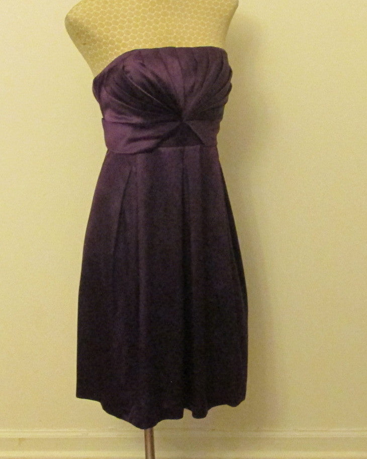 The Limited stunning purple halter top dress Sz 8, NEW
