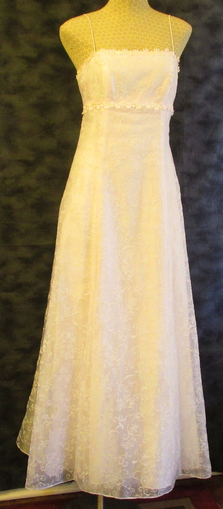 Blondie Nites lite pink formal dress Sz 7/8, excellent condition!