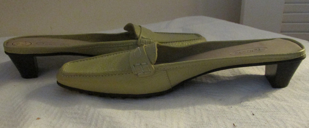 Talbots green sandals Sz 9 B, excellent condition!