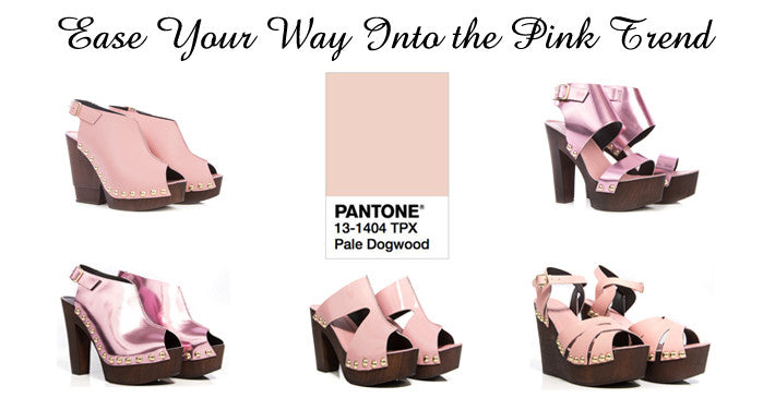 Ease Your Way Into the Pink Trend