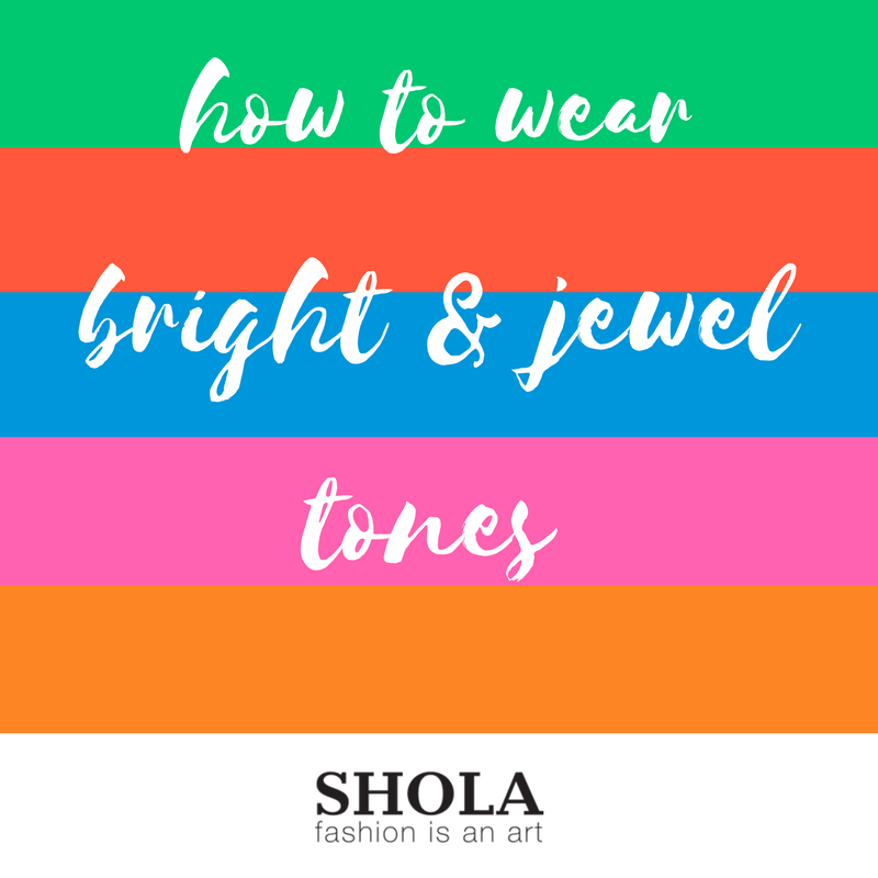 Style feature: How to wear bright and jewel tones