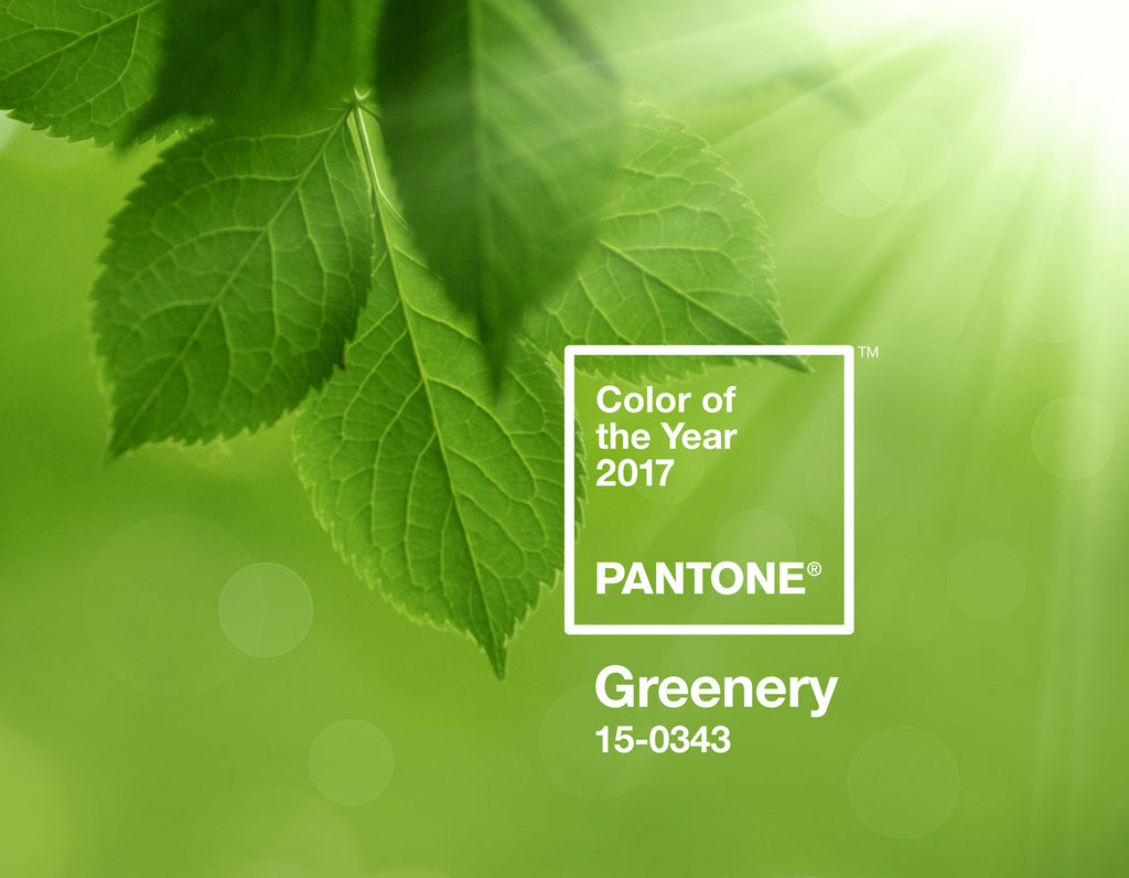 Pantone's 2017 color of the year: Greenery