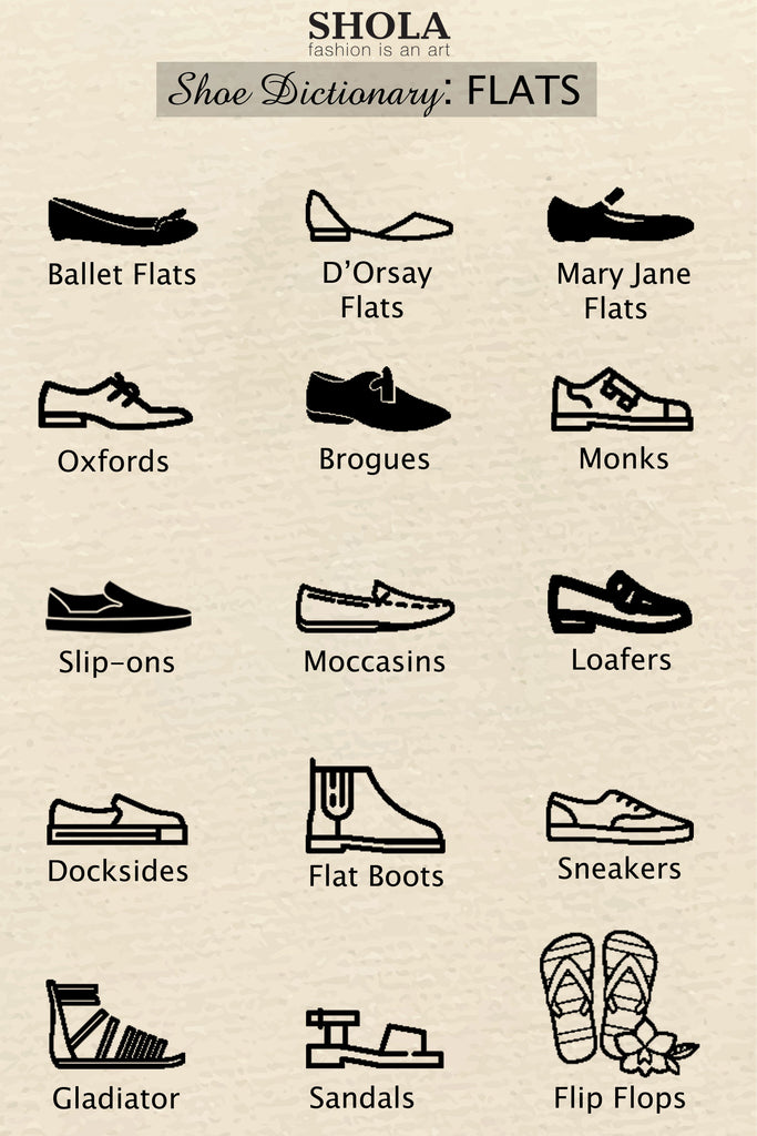 Shoe Dictionary: Flats