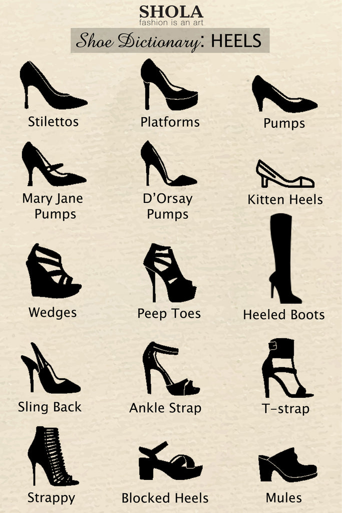 Shoe Dictionary: Heels