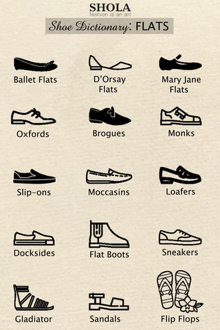 Shoe Dictionary: Flats | Shola Designs